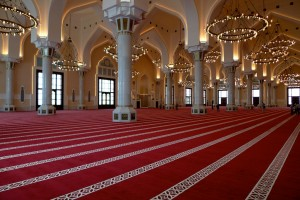 Qatar State Mosque, Doha, Qatar. Acoustic simulations, system design, testing and commissioning.