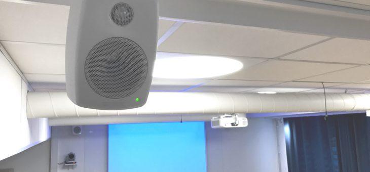 Ljud för videokonferens på HSB i Mölndal