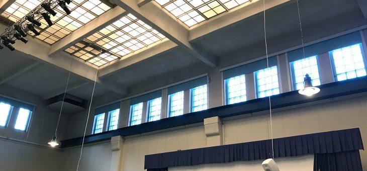 Nytt ljud i anrik byggnad